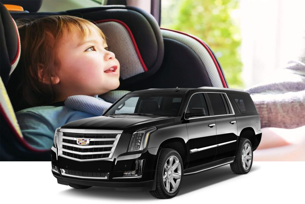 car rentals with child seats facility from $15