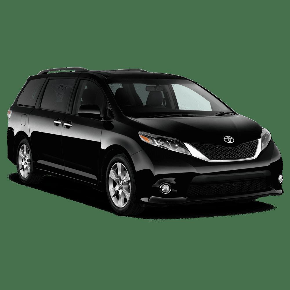 Toyota Sienna for luxury car rental service